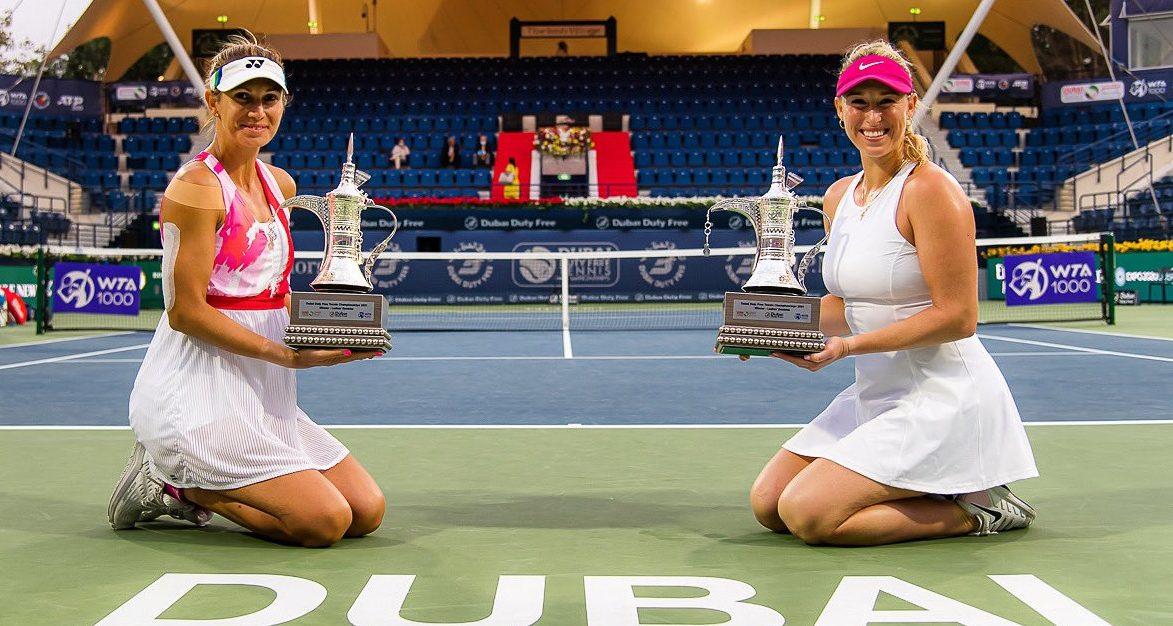 Gigante! Alexa Guarachi sumó un nuevo título en dobles tras coronarse campeona del WTA 1000 de Dubái