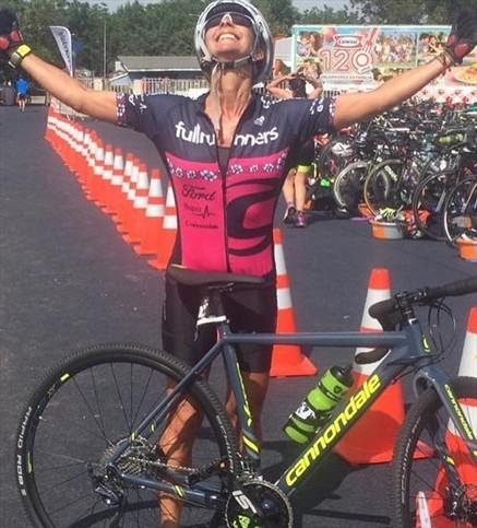 Corre por tu Vida estuvo con su Team en la triatlón de Piedra Roja