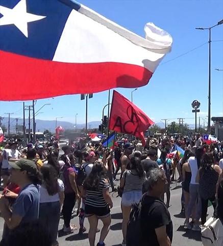 Chile en las calles: un mes de resistencia