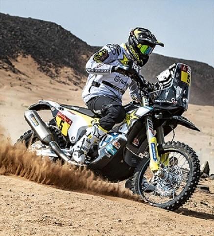 Quintanilla trepa en el Rally Dakar y se ubica en la segunda posición de la general