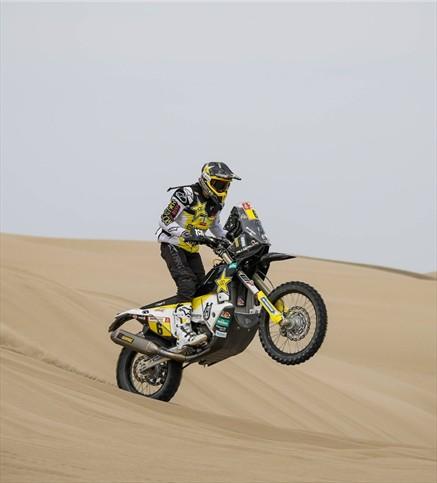 Quintanilla se quedó con la novena etapa del Dakar