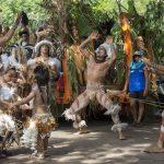 Todo Hanga Roa se volcó a las calles para participar en el desfile Nari Nari más conocido como Farándula