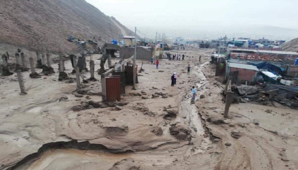 Inundaciones dejan al menos cuatro muertos y 20 heridos en Perú