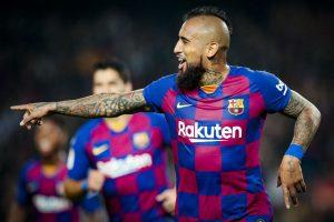 En España alabaron a Vidal tras la goleada del Barcelona ante el Eibar