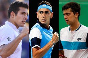 Los tenistas chilenos ya conocieron su suerte en el ATP de Santiago