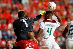 Unión La Calera dio el batacazo ante Fluminense en Copa Sudamericana
