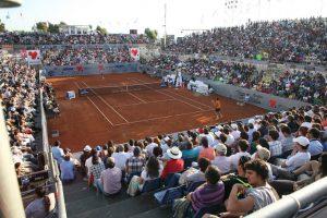 Así quedó el Court Central de San Carlos de Apoquindo para acoger el ATP 250 de Santiago