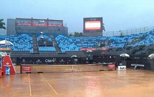 La lluvia interrumpió el partido de Garin en el ATP 500 de Río de Janeiro