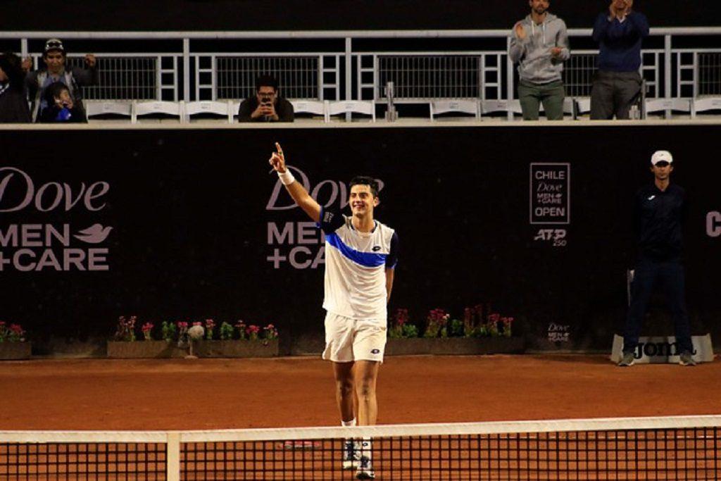 El punto con que Tomás Barrios selló su primera victoria a nivel ATP