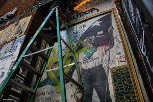 GAM preservará mural de Gabriela Mistral que se encontraba en su fachada