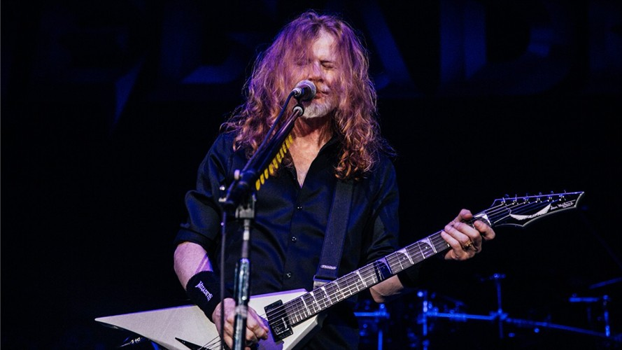 "Dave Mustaine: ""Estoy 100% libre de cáncer"""