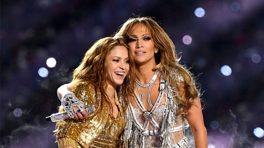 Shakira y J.Lo registraron explosivo aumento en sus reproducciones en Spotify desde el Super Bowl
