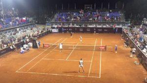 Barrios y Tabilo se tomaron revancha de la derrota en singles triunfando en dobles del ATP de Santiago