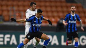 La gran jugada que Alexis armó con Lukaku y que terminó en gol del Inter en la Europa League