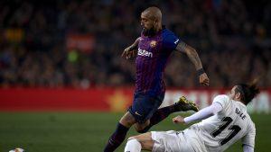 Arturo Vidal asoma como titular para el clásico entre Barcelona y Real Madrid