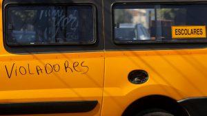 Justicia condenó a 10 años de cárcel a transportista escolar por abusar de menor de edad