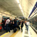 Metro cerró dos estaciones tras incidentes en Plaza de Puente Alto