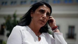 """Vocera Karla Rubilar: """"Reconocemos con humildad que nuestro gobierno no está bien evaluado"""""""