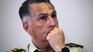 General director de Carabineros declarará como imputado en causa por violación de DD.HH.