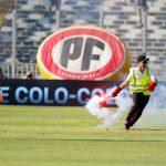 Partido entre Colo Colo y Universidad Católica fue suspendido momentáneamente