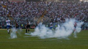 Colo Colo arriesgaría hasta cinco partidos de suspensión por incidentes en el clásico