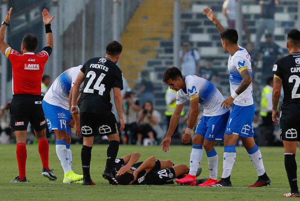 ANFP dio por terminado el duelo entre Colo Colo y Universidad Católica