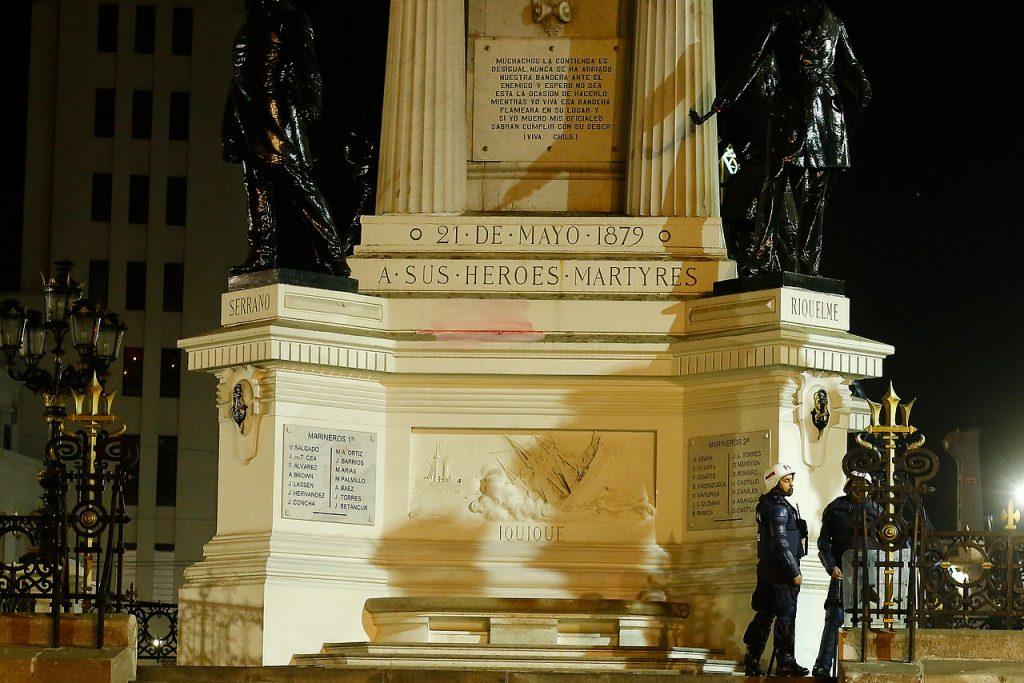 Intendencia de Valparaíso presentó querella por daños a Monumento a los Héroes de Iquique