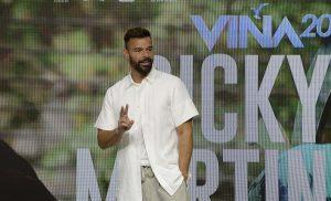 Ricky Martin y la importancia del festival: Crezco como artista cuando vengo a este escenario