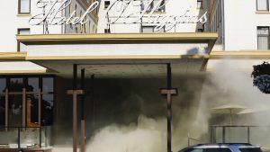 Intentende de Valparaíso aseguró que no están evacuando el Hotel O'Higgins