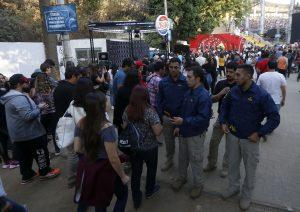 """Intendente de Viña: """"Hay unas 300 o 400 personas que están generando desórdenes"""""""
