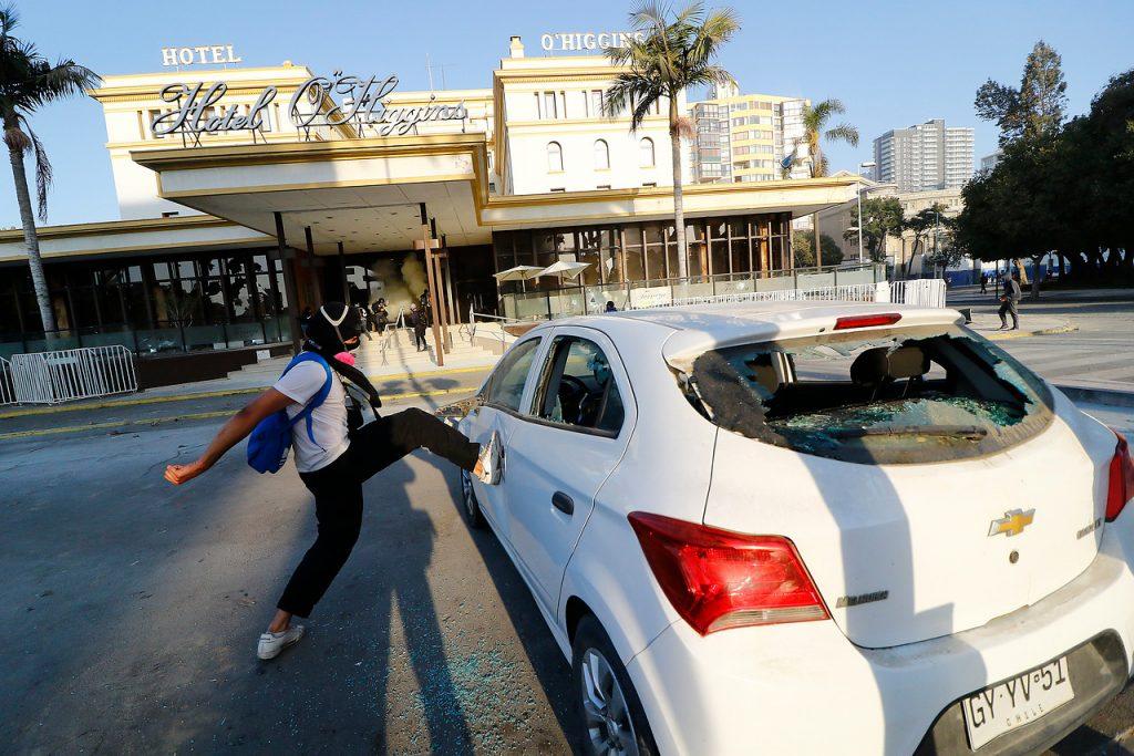 Accesos a la Quinta: normalidad en el ingreso de público e incidentes focalizados en Hotel O'Higgins