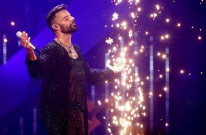 En imágenes: Así estuvo el show de Ricky Martin en Viña 2020