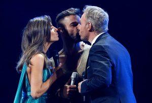 Contralorito se sumó al meme del momento del beso de Ricky Martin en el Festival de Viña del Mar