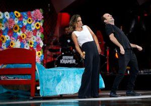 Así fue el show de Paloma Soto y Stefan Kramer en Viña 2020