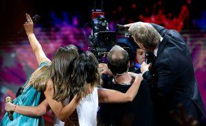 Así quedó la selfie de Stefan Kramer desde el escenario de Viña 2020