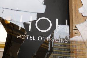 Hotel O'Higgins cerró sus puertas indefinidamente por destrozos