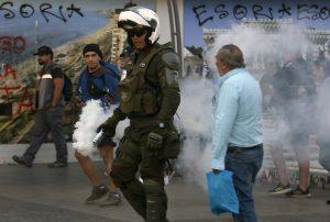 Al menos 18 detenidos en Viña del Mar en la tercera jornada del Festival