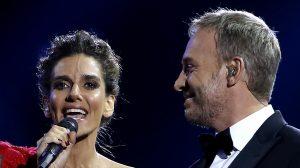 Es fue el look de María Luisa Godoy y Martín Cárcamo en el día 3 de Viña 2020