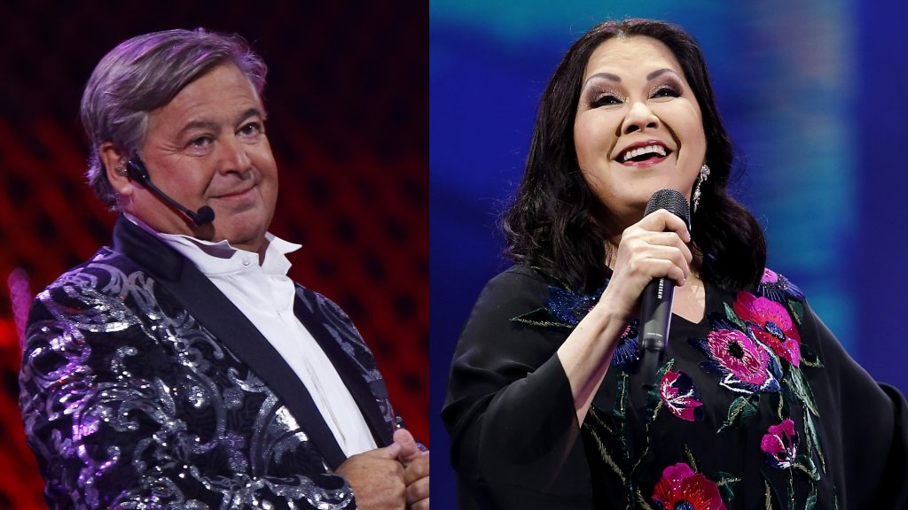 Vocalista de Sinergia criticó a Ana Gabriel y Ernesto Belloni en Viña 2020