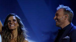 Este fue el comentado look de María Luisa Godoy y Martín Cárcamo en el día 4 de Viña 2020