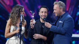Luciano Pereyra cerró una noche romántica en Viña 2020