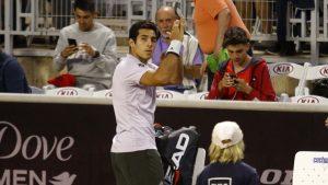 No pudo seguir: Cristian Garin se retiró del ATP de Santiago
