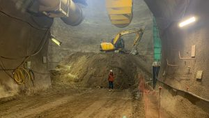 Metro informó que extensión de Línea 3 lleva 25% de avance