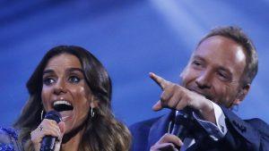 María Luisa Godoy fue aplaudida por su look de la última noche de Viña 2020