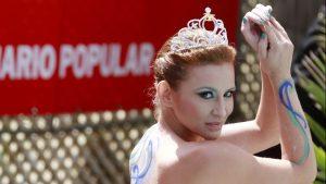 Sigrid Alegría recordó con un video su icónico piscinazo como Reina de Viña 2014