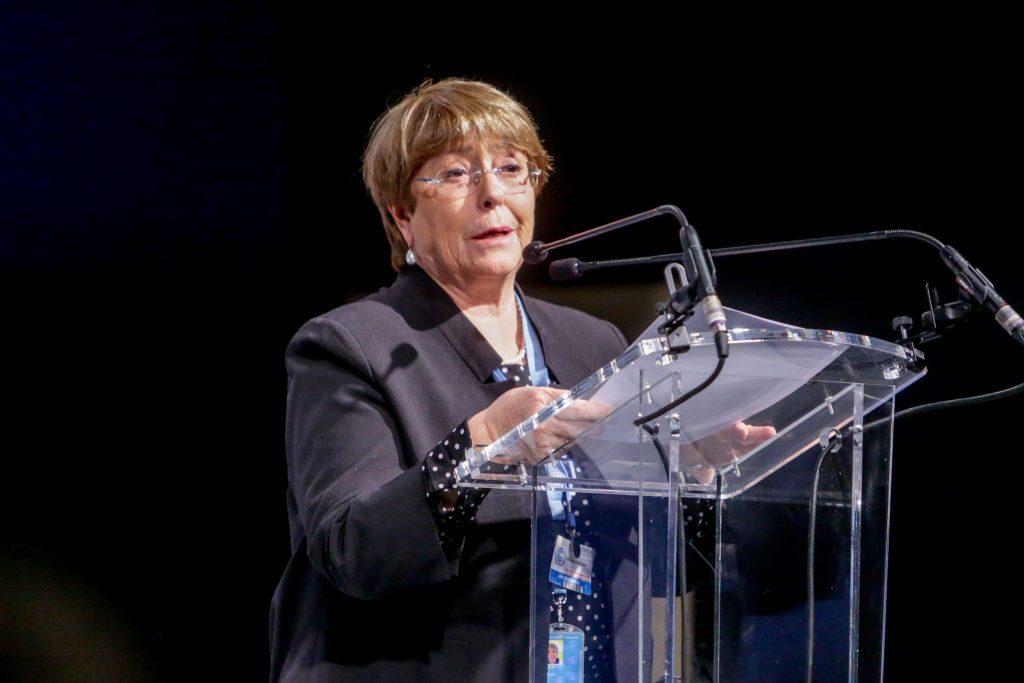 """Michelle Bachelet: """"Los derechos de las mujeres no son negociables"""""""