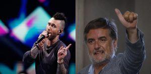 Humor negro: el comentario del diputado Undurraga sobre Maroon 5 que sacó aplausos en Twitter