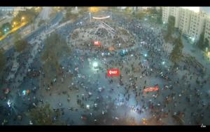 Cerca de 2 mil personas llegaron hasta Plaza Baquedano en contexto de movilizaciones