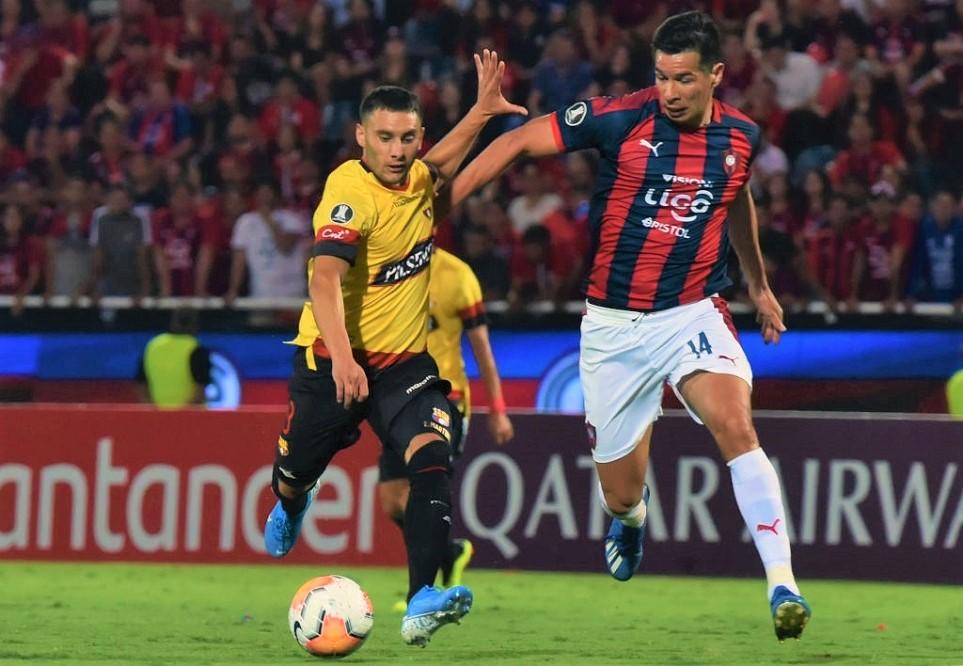 Barcelona Sporting Club clasificó en Asunción en la Copa Libertadores 2020