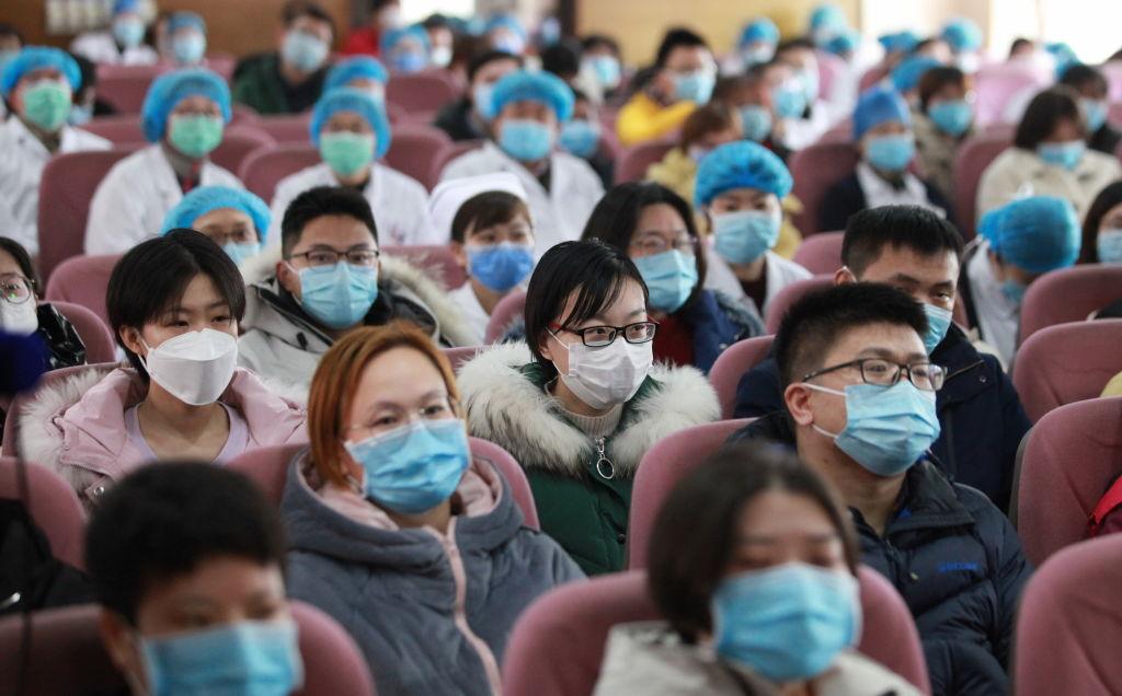 Funcionarios del Hospital del Norte de Jiangsu
